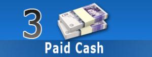 paid cash